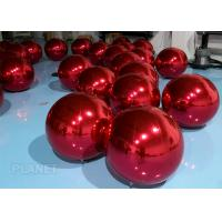 Wholesale Dazzle Color Inflatable Mirror Ball , 60cm Inflatable Disco Balloon For Wedding Decoration from china suppliers