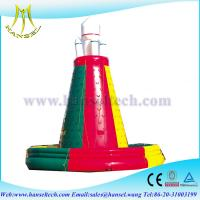Wholesale Hansel inflatable climbing wall , inflatable climbing game , inflatable sport game from china suppliers