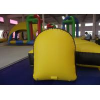 Wholesale Kindergarten Baby Inflatable Paintball Bunkers 1.2 X 0.6 X 1.5m 0.9mm Pvc Tarpaulin from china suppliers