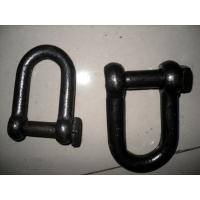 Wholesale Self Colored Steel Shackles , Square Head Screw Pin Shackle European Standard from china suppliers