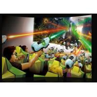 China Luxurious Fiber Glass Seats 9D Movie Theater With Bubble / Rain / Wind Effect on sale
