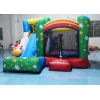 Wholesale 210D Oxford Inflatable Sports Games / Home Bounce House Slide Combo 3.55x3.3x2.5M from china suppliers
