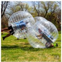 China PVC Material Human Inflatable Bumper Bubble Ball For Amusement Park / Game Event on sale