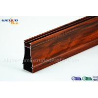 Wholesale Structural AA6063 T5 Window Aluminium Frame Wood Grain Surface from china suppliers