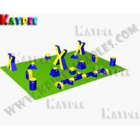 Wholesale 5 Man Xtreme Package,Inflatable paintball Bunker filed, paintball arena KPB015 from china suppliers