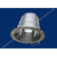 Wholesale Stainless Steel Rotary Drum Screen Filter , Wedge Wire Basket from china suppliers