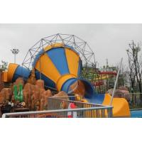 Wholesale Mini Tornado Water Slide For Aqua Park , Customized Color Fiberglass Kids Playground Slide from china suppliers