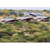 Buy cheap Prefab Outdoor Luxury Resort Tents Large Span High Dielectric Strength from wholesalers