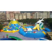 Wholesale Giant Adults / Kids Inflatable Water Slide Pool for Funny Amusement Games from china suppliers