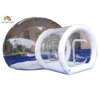 Wholesale PVC Tarpaulin  Inflatable Camping Bubble Tent For Hotel 4 m Diameter from china suppliers