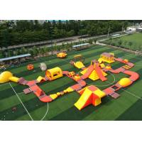 Wholesale Giant Inflatable Floating Water Park / 0.9mm Pvc Tarpualins Inflatable Water Sports from china suppliers
