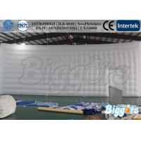 China White Inflatable Outdoor Tent Show Advertising Device For Promotion on sale