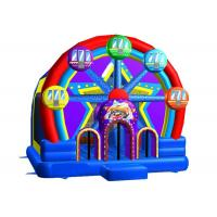 Wholesale Commercial Inflatable Bouncer House Combo 0.55mm PVC Ferris Wheel from china suppliers