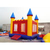 China Mini Inflatable Jump House Baby Bouncy Castle For Outdoor / Indoor Games on sale