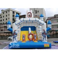 China Outdoor Inflatable Jumping Castle N Bounce House With Slide For Sale From China Factory on sale