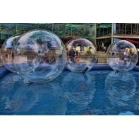 China Colorful Environmental Inflatable Zorb Ball , zorb water ball for Sand Fun games on sale