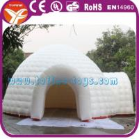 Wholesale 2015 outdoor inflatable igloo tent for party/ trading show inflatable tent for sale from china suppliers