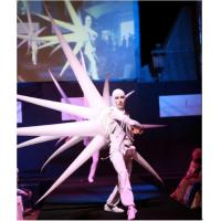 Wholesale 2m Perform Cloth Wearable Moving Inflatable Wing For Stage from china suppliers