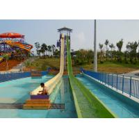 Crazy Free Fall High Speed Slide For Theme Park Adult Rider / Water Sports for sale