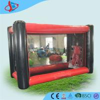 Wholesale Strength Red Black Big Inflatable Ball Game With CE / UL Blower from china suppliers