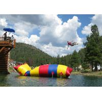 Wholesale ODM Jumping Water Catapult Blob Inflatable Toys For Swimming Pools from china suppliers