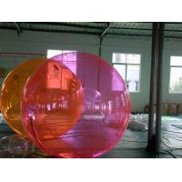 Wholesale 0.9mm PVC  Anti-UV Colorful Dia 2m Inflatable Water Walking Ball, Water Balls YHWB-019 from china suppliers