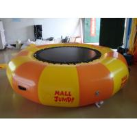 Wholesale Inflatable Water games / inflatable water Trampoline air tight pvc tarpaulin from china suppliers