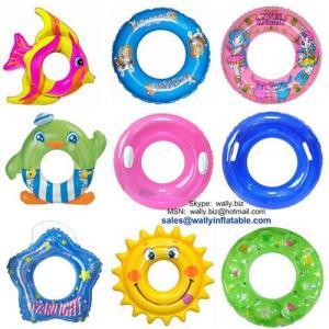 China Swim Ring, Inflatable Swim Ring, PVC Inflatable Swim Ring Tube, Swim Tube, Swim Ring For Baby on sale