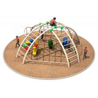 Wholesale 520x600x260cm Individual Playground Equipment Sand Climbing Structure For Children from china suppliers