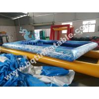 Wholesale Digital Inflatable swimming pool,inflatable pool,water park,aqua fun park inflatable from china suppliers