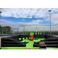 China Customized Inflatable Sports Games , Inflatable Eliminator With Rotative Machine on sale