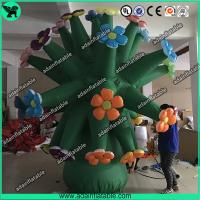 Giant Inflatable Flower For Event, Advertising Inflatable Tree, Inflatable Flower Tree