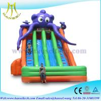 Wholesale Hansel Commercial inflatable slide for sale ,slide inflatable jumbo water slide from china suppliers