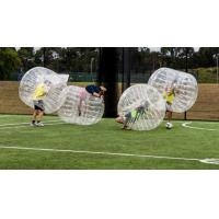 Wholesale Kids / Adults Inflatable Bubble Soccer 0.8 - 1 mm PVC Inflatable Bumper Ball from china suppliers