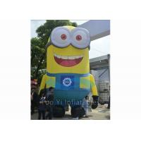Wholesale PVC Tarpaulin Inflatable Cartoon Character Giant Inflatable Minions Customized Size from china suppliers