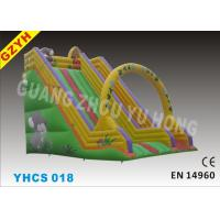 Buy cheap 0.55mm PVC Tarpaulin Animal Commercial Inflatable Slides, Amusement Park Slides from wholesalers