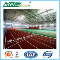 Environmental - Friendly Jogging Track Material , Spray Coating Surface Athletics Track
