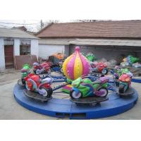 Buy cheap Motor Shape Children's Amusement Park Rides , Kids Carnival Car Carousel Ride from wholesalers