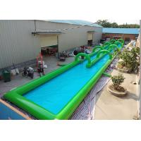 Wholesale Giant  1000 Ft Inflatable Slip N Slide / Blow Up Slip And Slide  Easy Setup from china suppliers