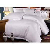 Wholesale Professional Hotel Comforter Sets , Polycotton Bed Linen For Hotels 115GSM from china suppliers