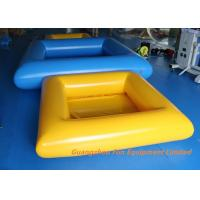 Wholesale 0.9mm Plato PVC Tarpaulin Inflatable Swimming Pool Water Slides For Kids And Adult from china suppliers