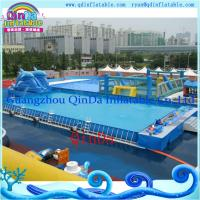 Wholesale Newest Water Inflatable Swimming Pool Steel Frame Pool Forwater Park from china suppliers
