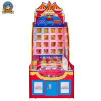 Wholesale Three People arcade Pitching Ball Coin Operated Game Machine from china suppliers