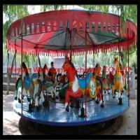 China deluxe mechanical carousel horse ride fair rides for sale with professional design on sale
