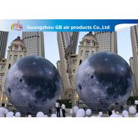 Wholesale Custom 5m Inflatable Lighting Decoration Lighted Moon Ball For Outdoor from china suppliers