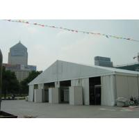 Wholesale 18m Wide Clear Span Aluminum Tent Frame , White Event Tent With Air Condition System from china suppliers