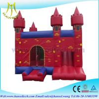 Wholesale Hansel buy inflatable slide trampoline,inflatable bouncer big,inflatable games for sale from china suppliers