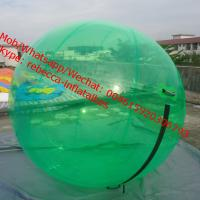 Wholesale human water bubble ball float ball water level crystal snow globe water ball from china suppliers
