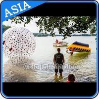 Wholesale Water Games Used Pvc Inflatable Zorb With Color Dots For Children from china suppliers