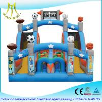 Wholesale Hansel Inflatable Smiling Obstacle Course, inflatable sliding course, inflatable obstacle from china suppliers